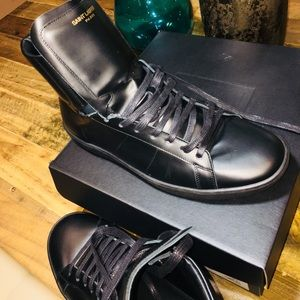 Saint Laurent SIGNATURE COURT HIGH TOP SNEAKER